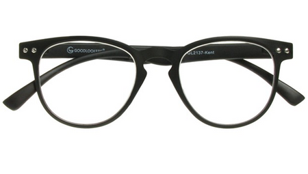 Goodlookers Reading Glasses - GL2137 'KENT' MATT BLACK