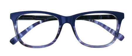 Goodlookers Reading Glasses - GL2279BLU 'DULWICH' BLUE