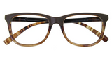 Goodlookers Reading Glasses - GL2279BRN 'DULWICH' BROWN
