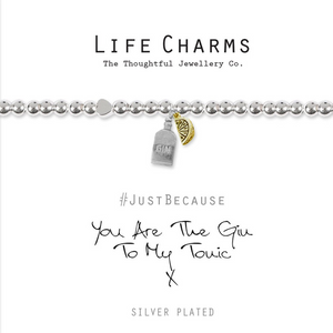 Life Charm Bracelet - You are the Gin to my Tonic!