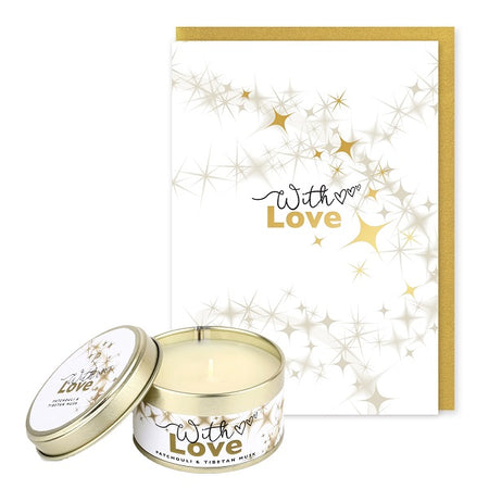 Pintail Occasion Candle & Greeting Card - With Love