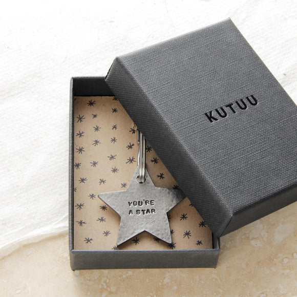 Kutuu - 'You're a Star' Keyring