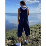 Chalk - Bev Jumpsuit | Navy