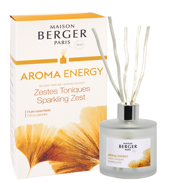 Maison Berger AROMA Energy - Sparkling Zest Scented Diffuser - 6057