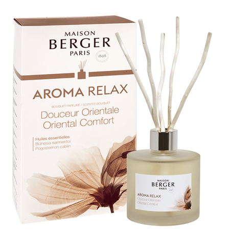Maison Berger AROMA Relax - Oriental Comfort Scented Bouquet 6056