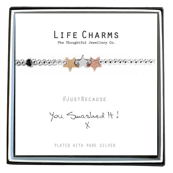 Life Charm Bracelet - You Smashed it! x