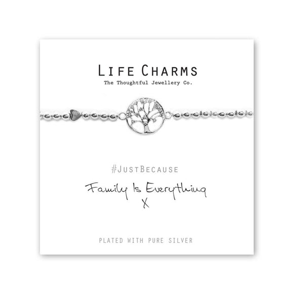 Life Charm Bracelet - Family is Everything