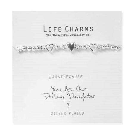 Life Charm Bracelet - You are our Darling Daughter