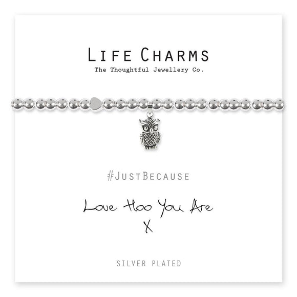 Life Charm Bracelet - Love Hoo You Are