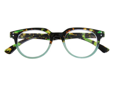Goodlookers Reading Glasses - GL2283 'CITY' GREEN
