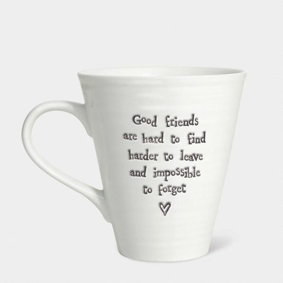 East Of India - Mug 'Good Friends...'