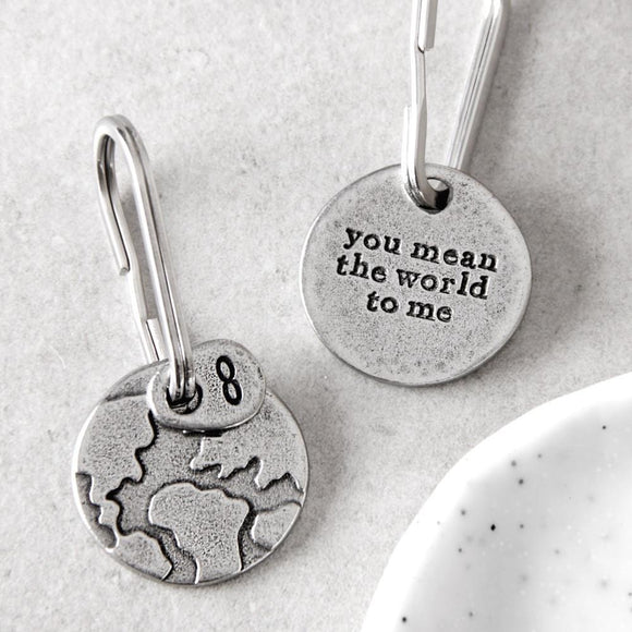 Kutuu - 'you mean the world to me' Keyring
