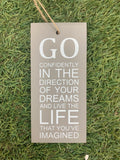 Inspirational Quotes - Hanging Signs