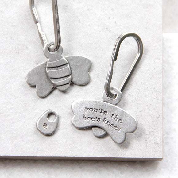 Kutuu - 'You're the Bee's Knees' Keyring