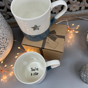 Secret Message Mug - 'You're a Star'
