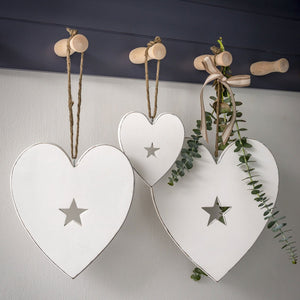 Retreat - Hanging Heart with Star  |  18SS70 & 18SS71