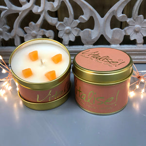 Lily Flame Scented Tin Candle - Vitalise