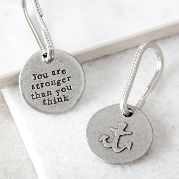 Kutuu - 'You are stronger than you think' Keyring
