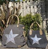 House of Milano Large Star Bag  |  Style 2253 - Greys