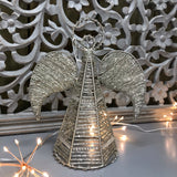 Retreat - Champagne Angel Beaded Tree Topper