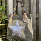 House of Milano Star Bag sand