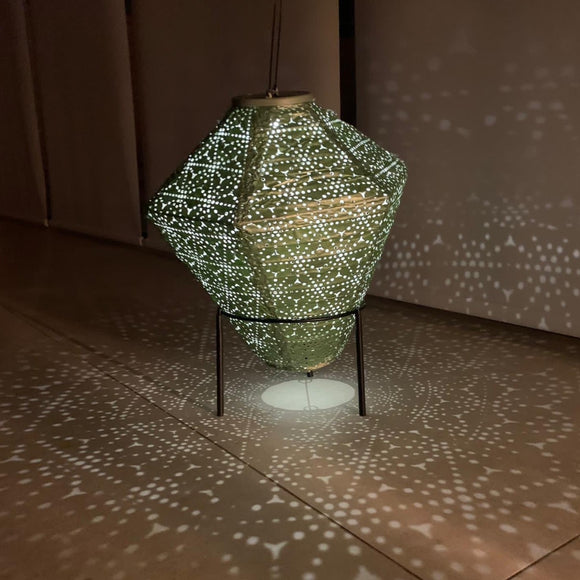 Lightstyle - Green Diamond Solar Lantern