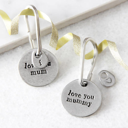 Kutuu - 'love you mum/mummy' Keyring
