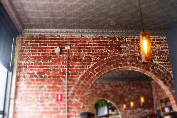 Jethro Canteen Exposed Brick Archway
