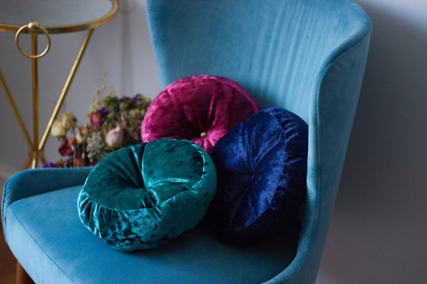 Velvet Cushions and Armchair Payday Deals