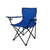 2Pcs Folding Camping Chairs Arm Foldable Portable Outdoor Fishing Picnic Chair Blue