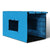 42inch Collapsible Pet Cage with Cover - Black & Blue