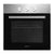 Devanti 60cm Electric Oven Built in Wall Forced Grill Stainless Steel Convection