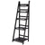Display Shelf 5 Tier Wooden Ladder Stand Storage Book Shelves Rack Coffee