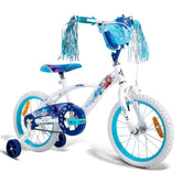 "Huffy Disney Frozen Girls Bicycle 16""40cm Kids Bike Blue"
