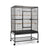 Large Bird Cage with Perch - Black