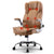 Massage Office Chair Gaming Chair Computer Desk Chair 8 Point Vibration Espresso