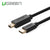 UGREEN USB Type C Male to USB 2.0 Mini 5Pin Male Cable - Black 1M (30185)