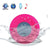 Waterproof Wireless Bluetooth Speaker (Pink)