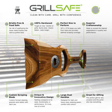 GrillSafe Pitmaster Signature Edition wood grill scraper features