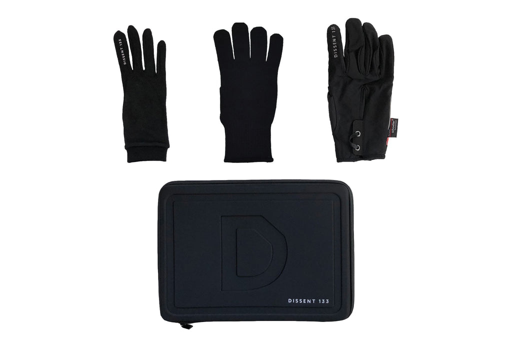 Waterproof Hunting Gloves Winter Warm Touch Screen Glove with Silicone Palm
