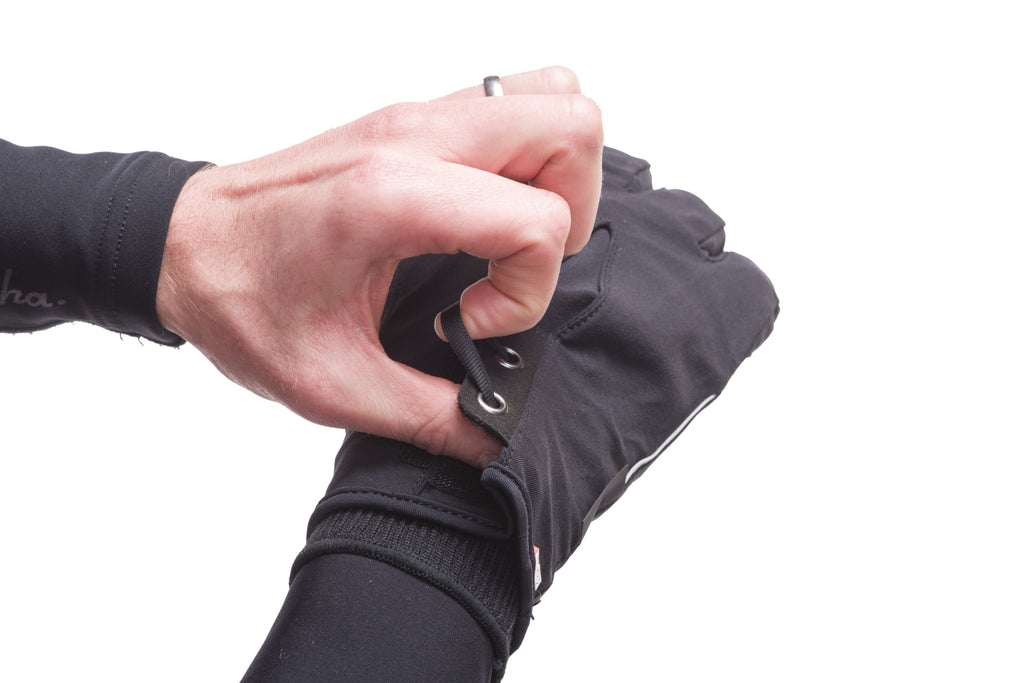Dissent 133 Hiporalite Waterproof Cycling Gloves - Tightening Loop