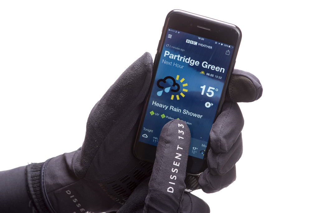Dissent 133 Hiporalite Waterproof Cycling Gloves - Touchscreen