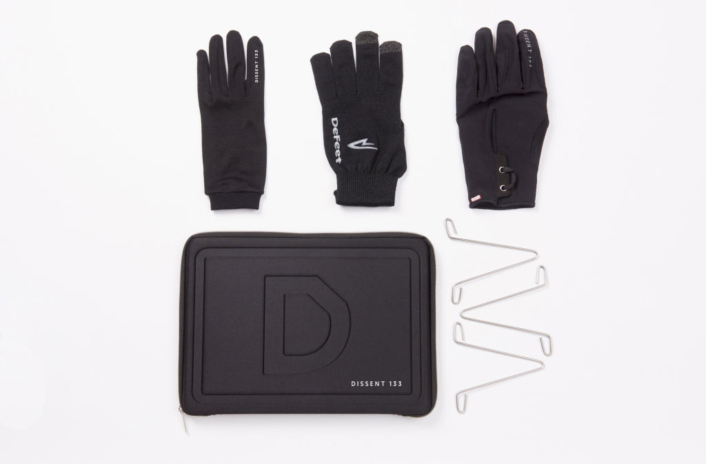 Dissent 133 Cycling Glove Case Full