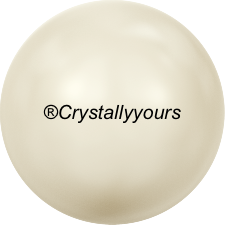 5809 CRYSTAL CREAMPEARL NO HOLE PEARLS