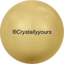 5810 CRYSTAL GOLD PEARLS