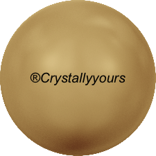 5810 CRYSTAL BRIGHT GOLD PEARLS