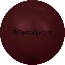 5810 CRYSTAL BORDEAUX PEARLS