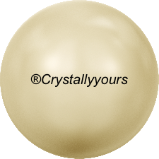 5810 CRYSTAL LIGHT GOLD PEARLS
