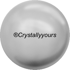 5810 CRYSTAL LIGHT GREY PEARLS