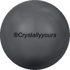5810 CRYSTAL DARK GREY PEARLS